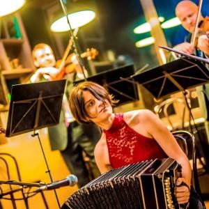 A Városliget Caféban a Lanner Kvartettel