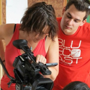 Budapest Film Academy, vizsgafilm forgatás, Váczi Zsombor rendezővel