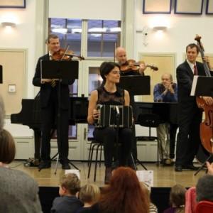 Budapesti Fesztiválzenekar,  Kakaókoncert, Lanner Kvartettel