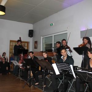 Aix-en-Provence-ban milongán zenélünk