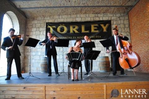 Törley Udvar, Lanner Kvartett 2014