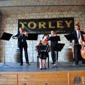 A Lanner Kvartettel a Törley Udvarban